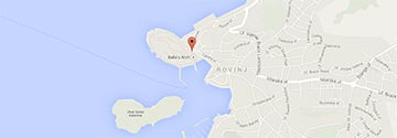private accommodation in Rovinj map search