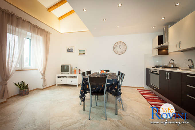 Private accommodation in Rovinj