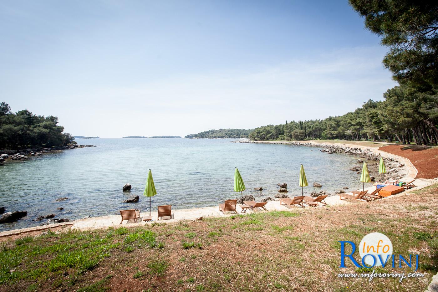 spiagge a Rovigno: Baia Cuvi