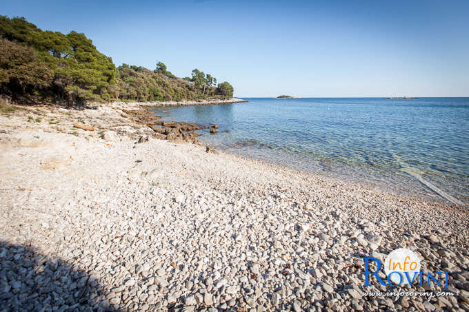 Beaches in Rovinj: Skaraba