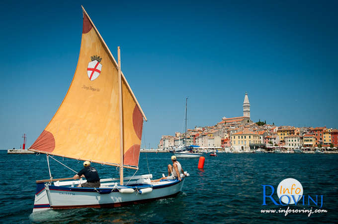 Batana, the traditional Rovinj's fishing boat 1