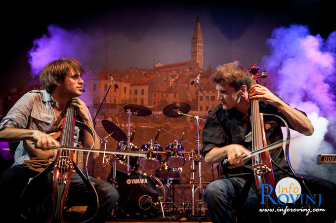 2 CELLOS in Rovinj