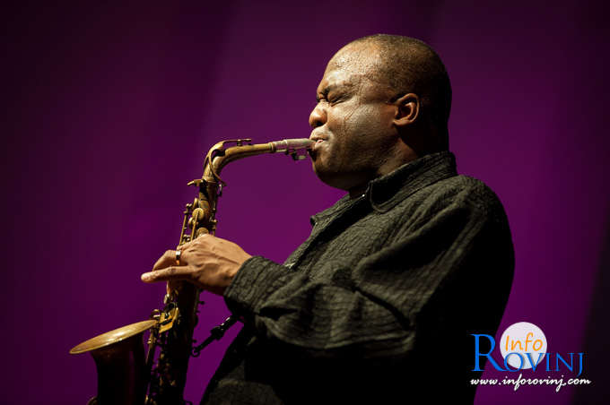 James Carter Organ Trio in Rovinj